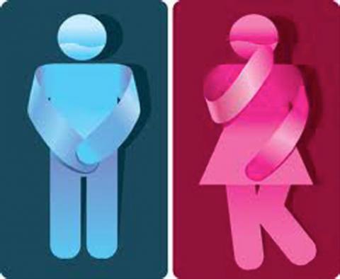 Pérdida de orina en hombres y mujeres