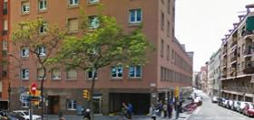 Façana del bloc 3 de consultes externes de la Clínica Ntra. Sra. del Remei,Barcelona