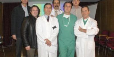 Grupo traumatólogos jornada actualización artroscopia hombro