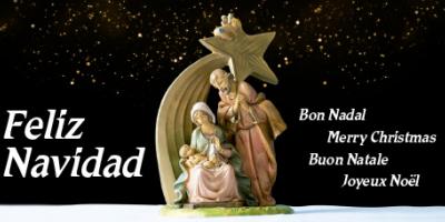 Felicitación de Navidad del IRSJG y la Clínica del Remei