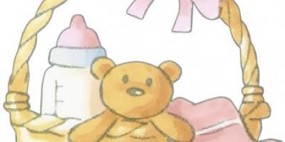 Canastilla del bebé