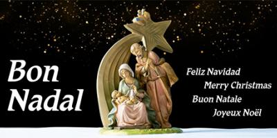 Felicitació per Nadal 2020 de l'IRSJG i la Clínica del Remei