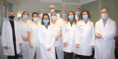 Equip de l'Institut de Reumatologia i Antropologia Mèdica de la Clínica del Remei a Barcelona